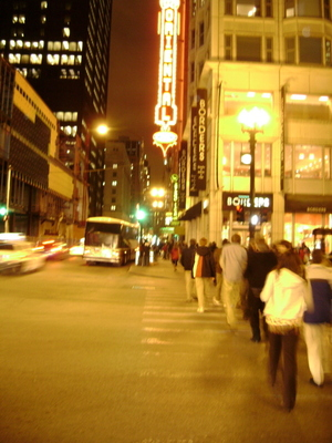Headed to Oriental Theater to see Wicked